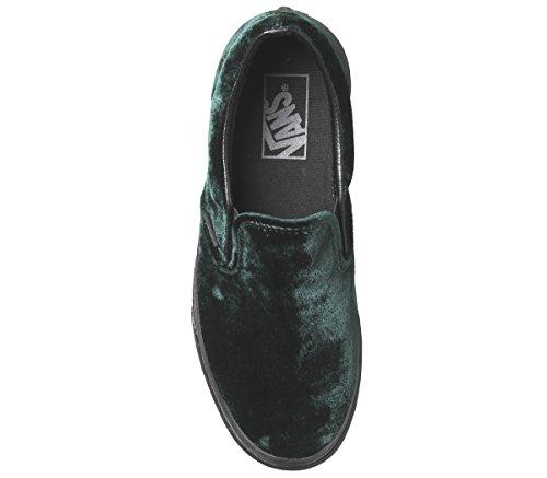 Vans Autentiche Sneakers Unisex Per Adulti Con Velluto Verde Nero