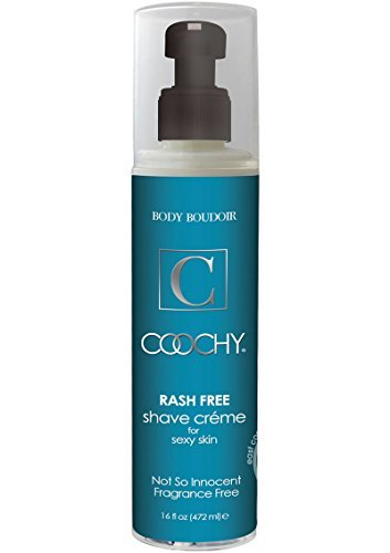 Body Boudoir Coochy Rash Free Shave Creme Fragrance Free 16 Ounce