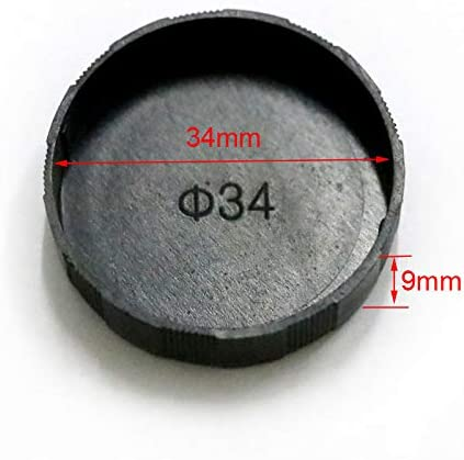 Microscope Ocular Dust Cover C Mount CCD Interface Microscope Lens Cap Eyepiece Cover 23.2mm 25.4mm 27.5mm 34mm 35mm 38mm 39mm Mercury/_Group Color:27.5mm