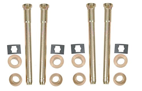 Hinge Jimmy Door (Dorman Door Repair Hinge Pin and Bushing Kit for Chevy GMC Olds Pickup Truck SUV)