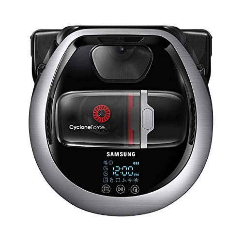 Samsung Electronics R7260 Plus Robot Vacuum Self-Clean Soft Action Brush for Pet Hair, Ideal for Carpets & Hard Floors, 5160Pa Strong Performance, Works with Amazon Alexa and the Google Assistant