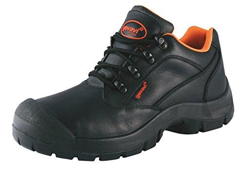 Gevavi Safety Gs4100500 Gs41 Scarpa Di Sicurezza Semi-alta S3, 50, Nera