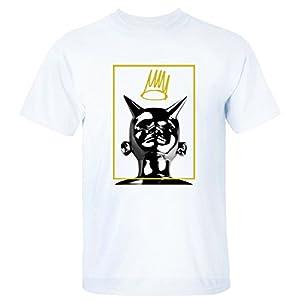 XEXCEL Cotton Short Sleeve J.Cole Born Sinner Logo T-shirt for Men white M