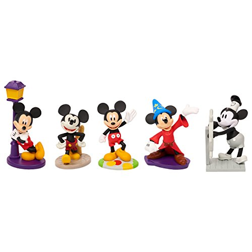 - Mickey's 90th Collector Figure Set - Brown Mailer