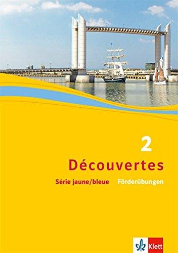 Découvertes, Série jaune - Série bleue 2: Föderübungen