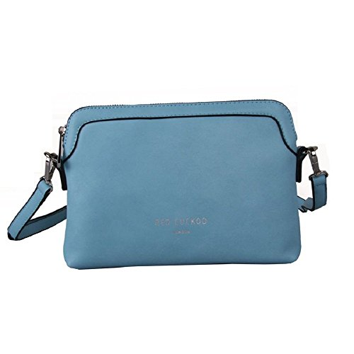 Diseño De Cruz De Cielo Rojo Bolsa Plástico De 343 Cuco Azul fYH4x5q