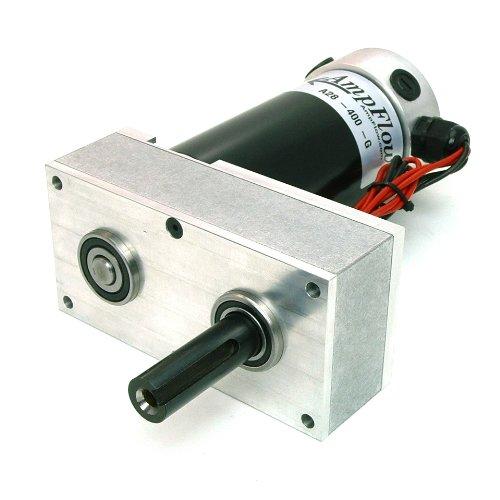 Image of Industrial Motors AmpFlow A28-400-G Electric Gearmotor, 12V, 24V or 36 VDC, 580 RPM