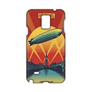 Evil-Store Led-zeppelin 3D Phone Case Case For Samsung Note 4 Cover