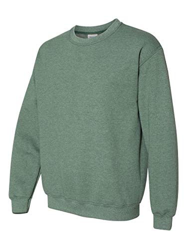 (Gildan - Heavy Blend Crewneck Sweatshirt - 18000 - L - Heather Sport Dark Green)