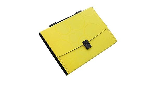13 Pockets Portable File Holder A4 Document Organizer Information Bag-Y