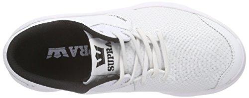 WHITE Noiz WHITE Sneaker Supra Women's Men's RcHSWnBEI