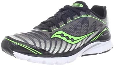 Saucony Men's Kinvara 3 Running Shoe,Black/Slime,9.5 M US