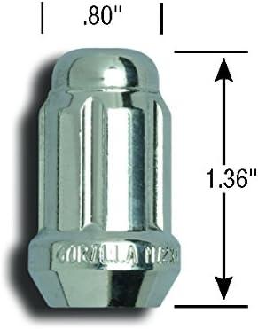 Gorilla Automotive 21184HT Lug Nut