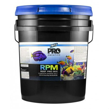 Fritz Aquatics 80270 Reef Pro Mix Complete Marine Salt, 180 Gallon