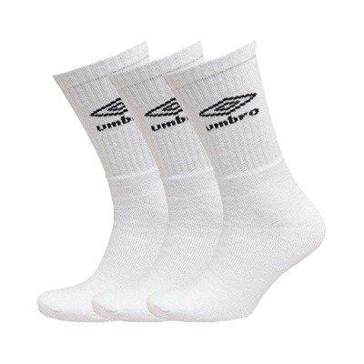 Umbro Hombre Calcetines Deportivos 3 Pack de algodón Weiß 35-38: Amazon.es: Ropa y accesorios