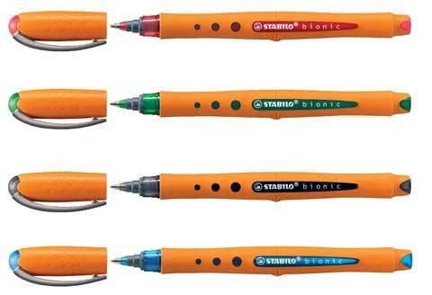 Stabilo Bionic Worker Med Pt 4 Color Pen Set