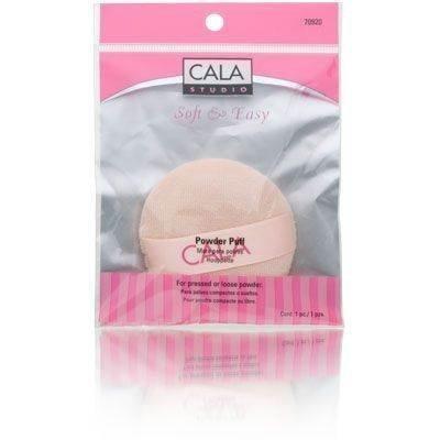 Cala Studio Soft & Easy Powder Puff Model No. 70920 - 1 Piece (Studio Cala)