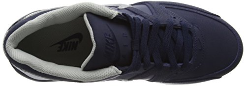 NIKE Leather 401 Air Bluecap Obsidian Running Command Silver Metallic White Max Blu Scarpe Uomo ArrOqtw
