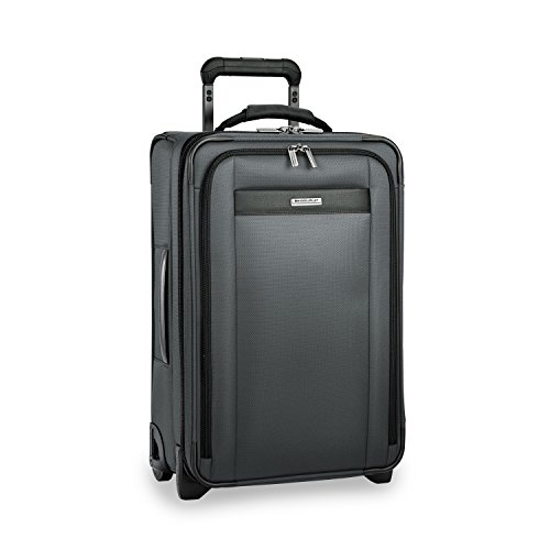 Briggs & Riley Transcend Expandable Carry-On 22'' Upright, Slate by Briggs & Riley