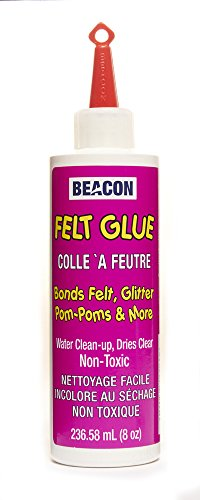 - Beacon Adhesives FG4OZBOT12 Felt Glue, 4-Ounce
