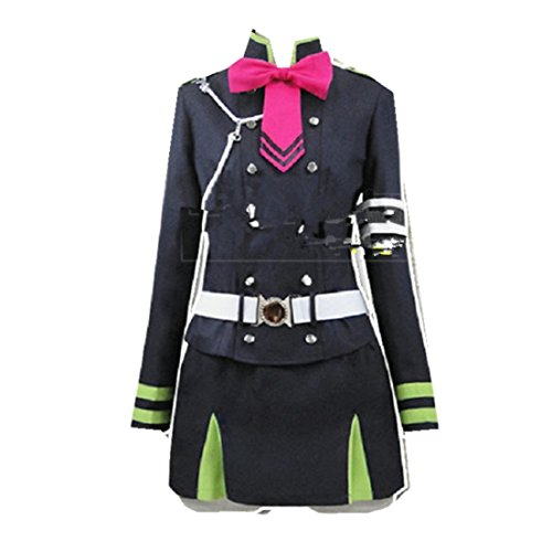 Shinoa Hiragi Costume (Seraph of the End Shinoa Hiragi military uniform cosplay costume)