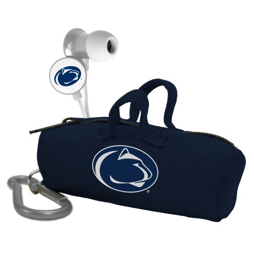 AudioSpice NCAA Penn State Nittany Lions Scorch Earbuds with Bud Bag from AudioSpice