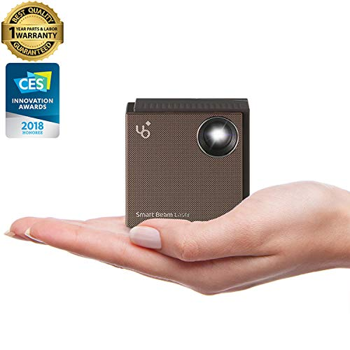 UO Smart Beam Laser, CES Awarded Portable Mini Projector,