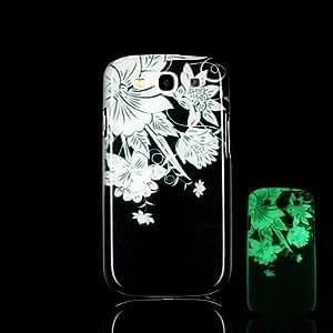 Teléfono Móvil Samsung - Cobertor Posterior - Gráfico/Diseño Especial/Resplandor en la Oscuridad - para Samsung S3 I9300 Plástico )