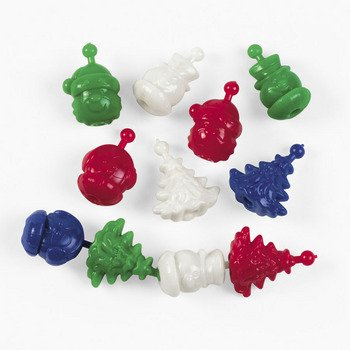Christmas Pop Beads - Curriculum Projects & Activities & Blocks & Manipulatives