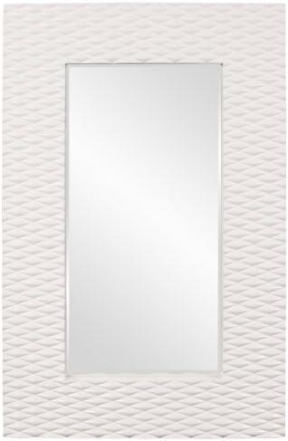 Howard Elliott 56094 Canfield Mirror, White