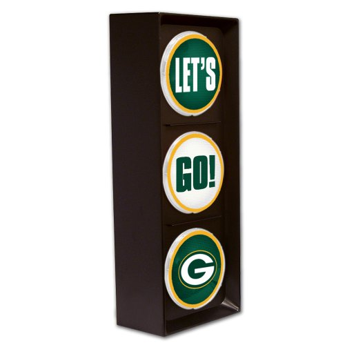 The Memory Company NFL Green Bay Packers Let's Go (Football Wall Shelf)