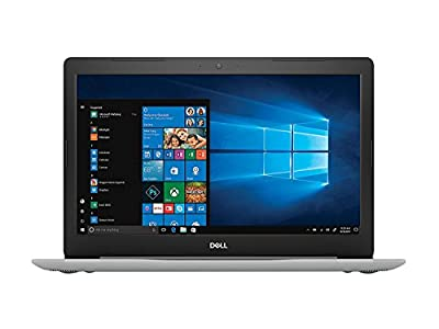 "2018 Dell Inspiron 5000 15.6"" Full HD IPS Touchscreen Laptop, 8th Intel Quad Core i5-8250U up to 3.4GHz, 8GB DDR4 RAM, 1 TB HDD, DVD,HDMI, Bluetooth, Windows 10, Silver (i5570-5364SLV-PUS)"
