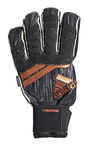 (adidas Predator 18 FS Pro Soccer Goalie Gloves CF1335 - Black, Copper (8))