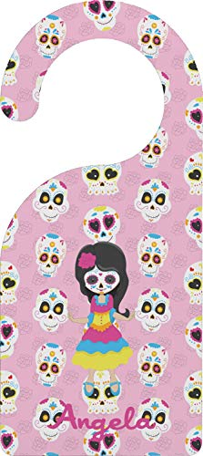 YouCustomizeIt Kids Sugar Skulls Door Hanger (Personalized)