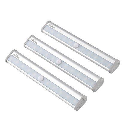 Kealive Schrankleuchte Bewegungsmelder Licht Mit 10 Led Leuchten