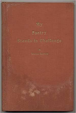My Poetry Stands to Challenge: Lavon SARTEN: Amazon.com: Books