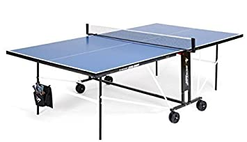 Dunlop Evo 2000 ping pong fácil plegable Weel fuera interior mesa ...