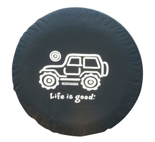 Life is good Native Offroad Tire Cover - Black 32