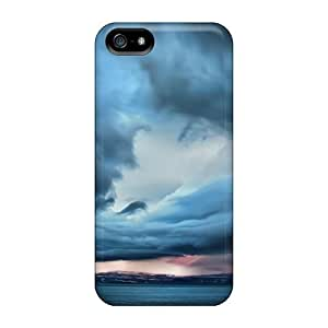 Wade-cases Fashion Protective Stormy Clouds Case Cover For Iphone 5/5s Kimberly Kurzendoerfer