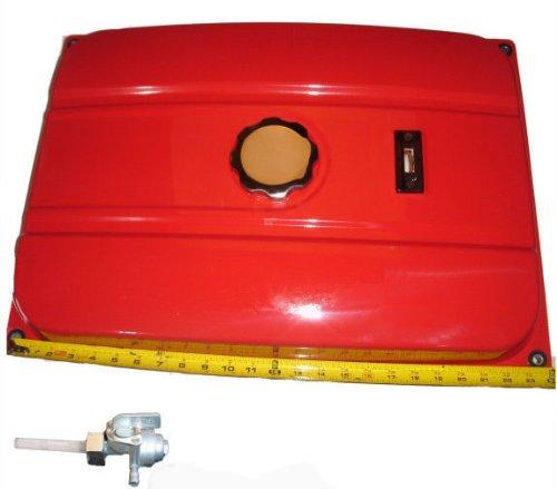 econdary Fuel Gas Tank Generator Petcock Filter Gauge Cap ()