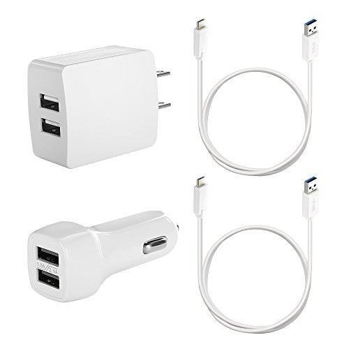 3.3ft Universal Retractable 4 In 1 USB Charger Cable - 6