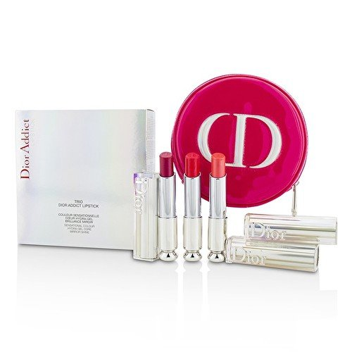 Dior Addict Hydra Gel Core Mirror Shine Lipstick Trio Set