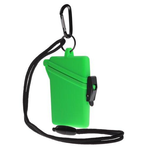 Witz Surf Safe Waterproof Case, Green (Witz Surf Case Dry Safe)