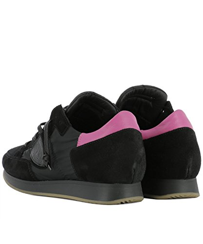 Philippe Model Damen TRLDSR03 Schwarz Stoff Sneakers