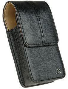 Cerhinu Vertical Leather Case Pouch Clip For Kyocera Brio