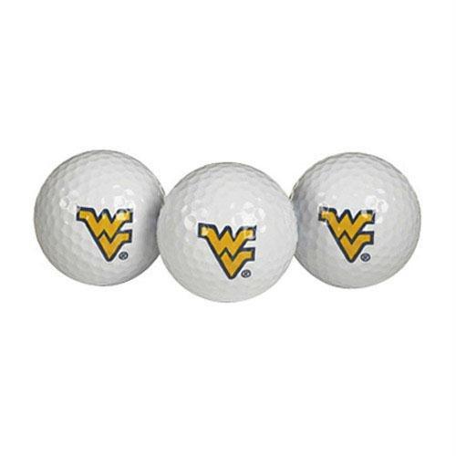 Team Effort West Virginia Mountaineers Golf Ball 3 Pack