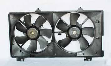 TYC 621170 Mazda Mazda6 Replacement Radiator//Condenser Cooling Fan Assembly