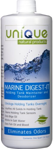 Unique Natural Products Marine Digest It Holding Tank Treatment  32 Ounce