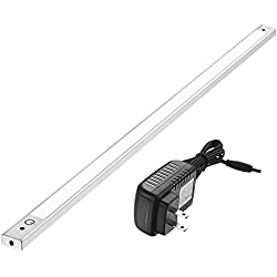 24 Inch Under Cabinet Lighting 4000K - Under Counter Lighting and Under Cabinet LED Lighting by Phonar with 12V Adapter and Sensor Switch