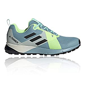 Adidas Terrex Two Azul/Verde | Zapatillas Trail Mujer
